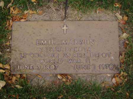 MADSEN, EMIL - Minnehaha County, South Dakota | EMIL MADSEN - South Dakota Gravestone Photos