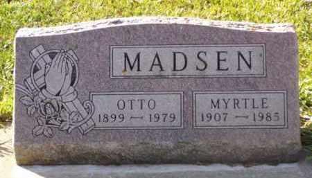 MADSEN, OTTO - Minnehaha County, South Dakota   OTTO MADSEN - South Dakota Gravestone Photos