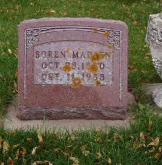 MADSEN, SOREN - Minnehaha County, South Dakota | SOREN MADSEN - South Dakota Gravestone Photos