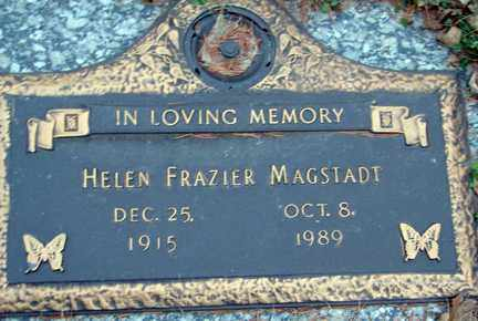 MAGSTADT, HELEN - Minnehaha County, South Dakota | HELEN MAGSTADT - South Dakota Gravestone Photos