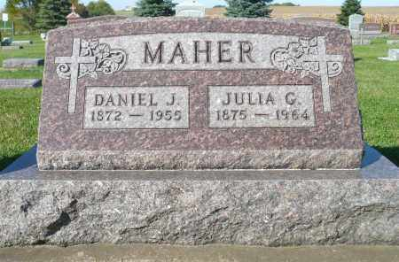 MAHER, DANIEL J. - Minnehaha County, South Dakota | DANIEL J. MAHER - South Dakota Gravestone Photos