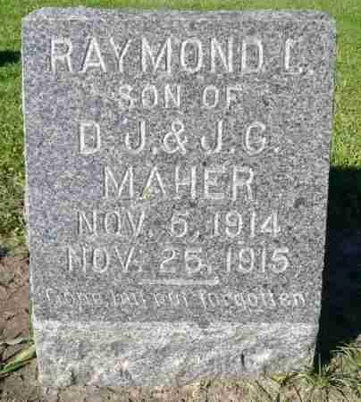 MAHER, RAYMOND J. - Minnehaha County, South Dakota | RAYMOND J. MAHER - South Dakota Gravestone Photos