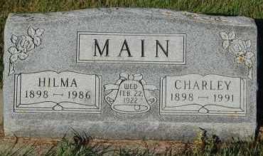 MAIN, CHARLEY - Minnehaha County, South Dakota | CHARLEY MAIN - South Dakota Gravestone Photos