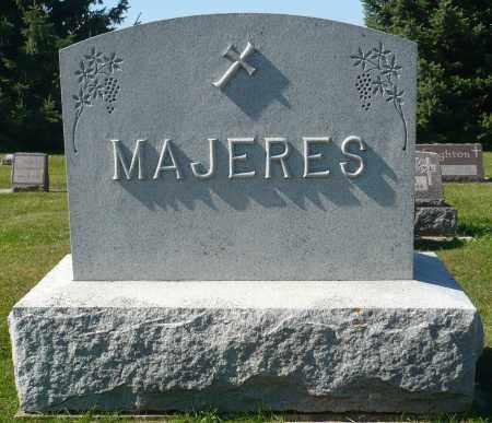 MAJERES, FAMILY MARKER - Minnehaha County, South Dakota   FAMILY MARKER MAJERES - South Dakota Gravestone Photos