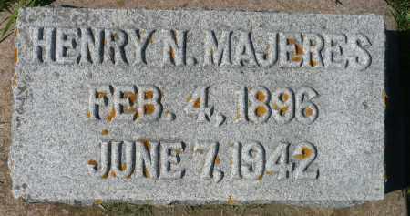 MAJERES, HENRY N. - Minnehaha County, South Dakota | HENRY N. MAJERES - South Dakota Gravestone Photos
