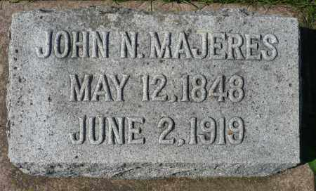MAJERES, JOHN N. - Minnehaha County, South Dakota | JOHN N. MAJERES - South Dakota Gravestone Photos