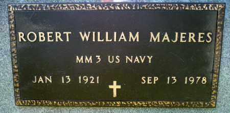 MAJERES, ROBERT WILLIAM (MILITARY) - Minnehaha County, South Dakota | ROBERT WILLIAM (MILITARY) MAJERES - South Dakota Gravestone Photos