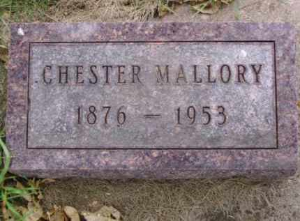 MALLORY, CHESTER - Minnehaha County, South Dakota | CHESTER MALLORY - South Dakota Gravestone Photos