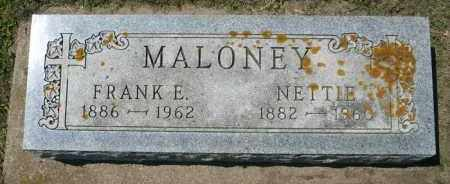 MALONEY, NETTIE - Minnehaha County, South Dakota | NETTIE MALONEY - South Dakota Gravestone Photos