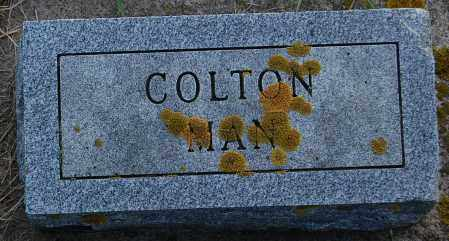UNKNOWN, COLTON MAN - Minnehaha County, South Dakota | COLTON MAN UNKNOWN - South Dakota Gravestone Photos
