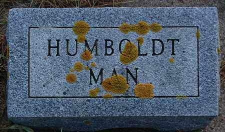 UNKNOWN, HUMBOLDT MAN - Minnehaha County, South Dakota | HUMBOLDT MAN UNKNOWN - South Dakota Gravestone Photos