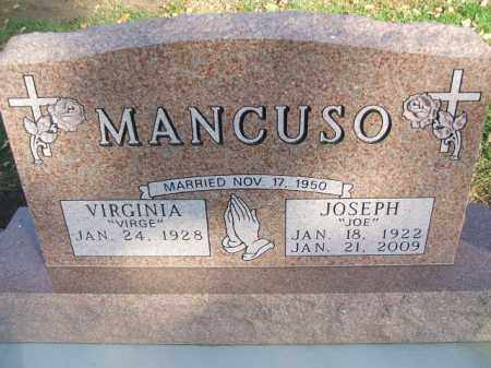 "MANCUSO, JOSEPH ""JOE"" - Minnehaha County, South Dakota 