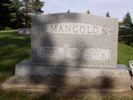 LANDSTAD MANGOLD, STELLA A. - Minnehaha County, South Dakota | STELLA A. LANDSTAD MANGOLD - South Dakota Gravestone Photos