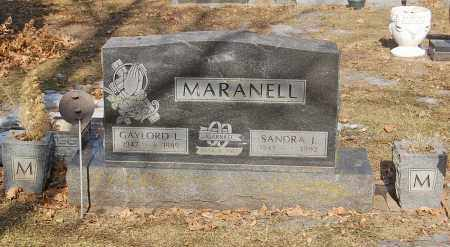 MARANELL, SANDRA I - Minnehaha County, South Dakota | SANDRA I MARANELL - South Dakota Gravestone Photos