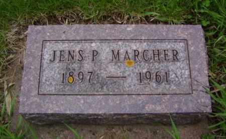 MARCHER, JENS PETER - Minnehaha County, South Dakota | JENS PETER MARCHER - South Dakota Gravestone Photos