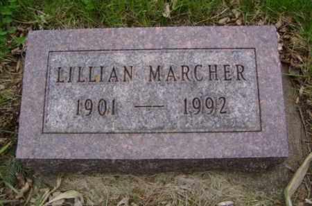 MARCHER, LILLIAN - Minnehaha County, South Dakota | LILLIAN MARCHER - South Dakota Gravestone Photos