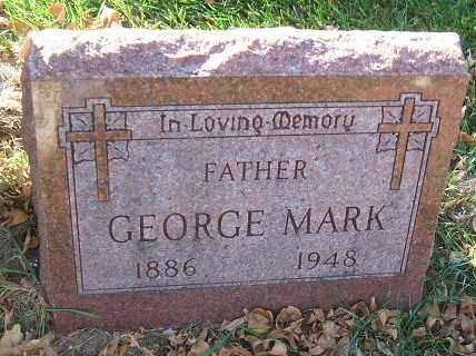 MARK, GEORGE - Minnehaha County, South Dakota | GEORGE MARK - South Dakota Gravestone Photos