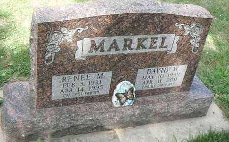 MARKEL, DAVID W. - Minnehaha County, South Dakota | DAVID W. MARKEL - South Dakota Gravestone Photos