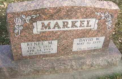 MARKEL, RENEE M. - Minnehaha County, South Dakota   RENEE M. MARKEL - South Dakota Gravestone Photos