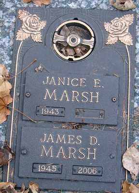 MARSH, JAMES D. - Minnehaha County, South Dakota | JAMES D. MARSH - South Dakota Gravestone Photos