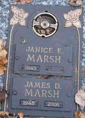 MARSH, JANICE E. - Minnehaha County, South Dakota | JANICE E. MARSH - South Dakota Gravestone Photos