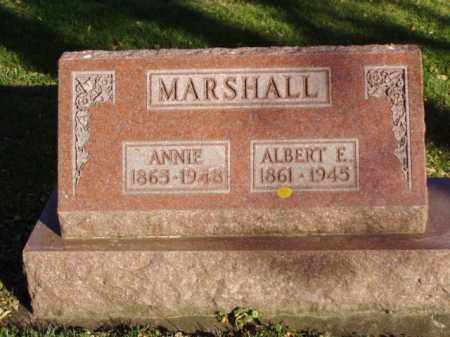 MARSHALL, ANNIE - Minnehaha County, South Dakota | ANNIE MARSHALL - South Dakota Gravestone Photos