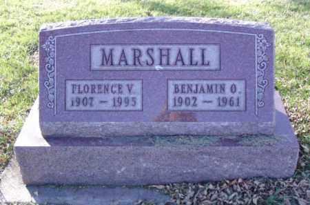 MARSHALL, FLORENCE V. - Minnehaha County, South Dakota | FLORENCE V. MARSHALL - South Dakota Gravestone Photos