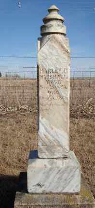 MARSHALL, HARLEY D - Minnehaha County, South Dakota | HARLEY D MARSHALL - South Dakota Gravestone Photos