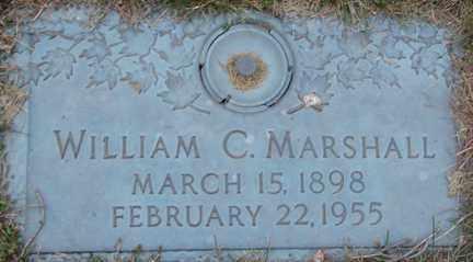 MARSHALL, WILLIAM C. - Minnehaha County, South Dakota   WILLIAM C. MARSHALL - South Dakota Gravestone Photos