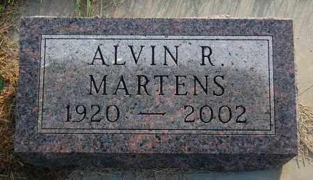 MARTENS, ALVIN R. - Minnehaha County, South Dakota   ALVIN R. MARTENS - South Dakota Gravestone Photos