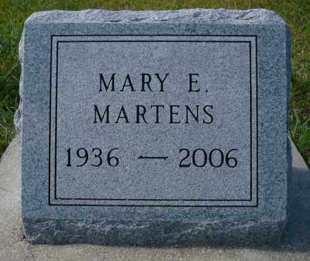 MARTENS, MARY ELIZABETH - Minnehaha County, South Dakota | MARY ELIZABETH MARTENS - South Dakota Gravestone Photos