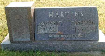 MARTENS, ELISE - Minnehaha County, South Dakota | ELISE MARTENS - South Dakota Gravestone Photos