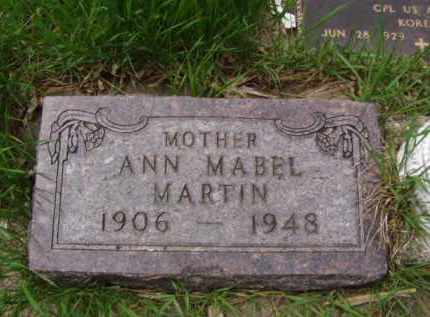 MARTIN, ANN MABEL - Minnehaha County, South Dakota | ANN MABEL MARTIN - South Dakota Gravestone Photos