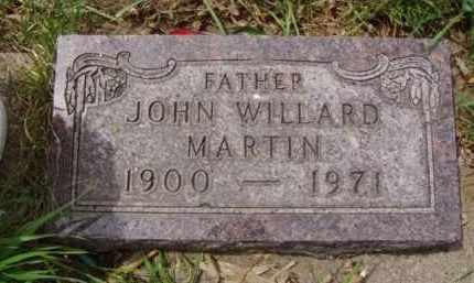 MARTIN, JOHN WILLARD - Minnehaha County, South Dakota | JOHN WILLARD MARTIN - South Dakota Gravestone Photos