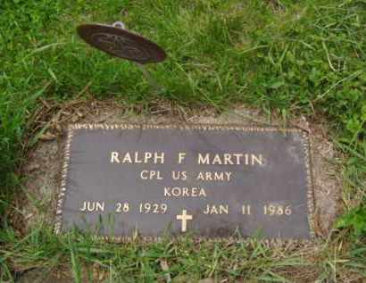 MARTIN, RALPH F. - Minnehaha County, South Dakota | RALPH F. MARTIN - South Dakota Gravestone Photos