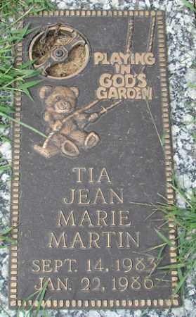 MARTIN, TIA JEAN MARIE - Minnehaha County, South Dakota | TIA JEAN MARIE MARTIN - South Dakota Gravestone Photos