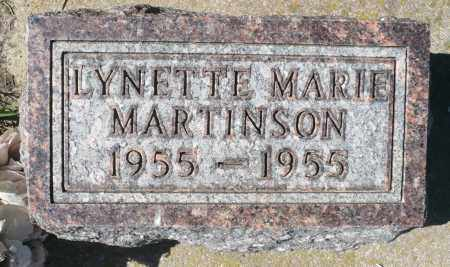 MARTINSON, LYNETTE MARIE - Minnehaha County, South Dakota | LYNETTE MARIE MARTINSON - South Dakota Gravestone Photos