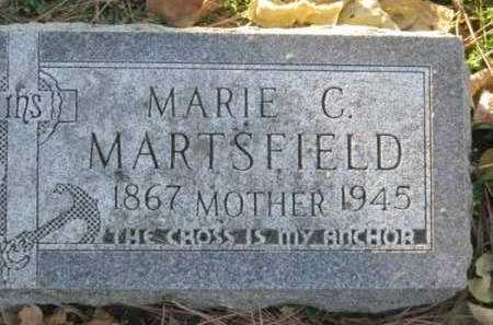 MARTSFIELD, MARIE C - Minnehaha County, South Dakota | MARIE C MARTSFIELD - South Dakota Gravestone Photos