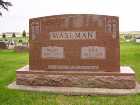 MASEMAN, NELLIE - Minnehaha County, South Dakota | NELLIE MASEMAN - South Dakota Gravestone Photos