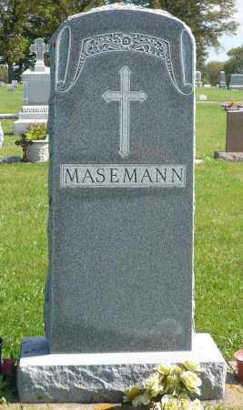 MASEMANN, FAMILY MARKER - Minnehaha County, South Dakota | FAMILY MARKER MASEMANN - South Dakota Gravestone Photos