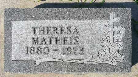 MATHEIS, THERESA - Minnehaha County, South Dakota   THERESA MATHEIS - South Dakota Gravestone Photos