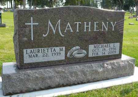 MATHENY, LAURIETTA M. - Minnehaha County, South Dakota | LAURIETTA M. MATHENY - South Dakota Gravestone Photos