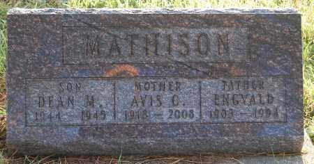 MATHISON, DEAN M. - Minnehaha County, South Dakota | DEAN M. MATHISON - South Dakota Gravestone Photos