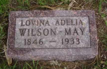 MAY, LOVINA ADELIA - Minnehaha County, South Dakota | LOVINA ADELIA MAY - South Dakota Gravestone Photos