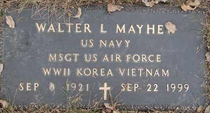 MAYHEW, WALTER L. (WWII - KOREA - VIETNAM) - Minnehaha County, South Dakota | WALTER L. (WWII - KOREA - VIETNAM) MAYHEW - South Dakota Gravestone Photos