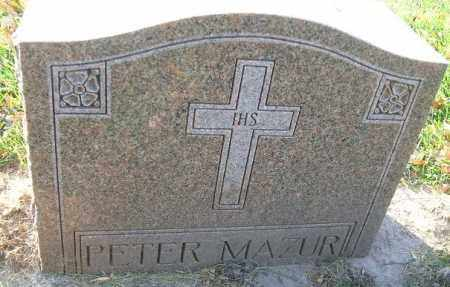 MAZUR, PETER - Minnehaha County, South Dakota | PETER MAZUR - South Dakota Gravestone Photos