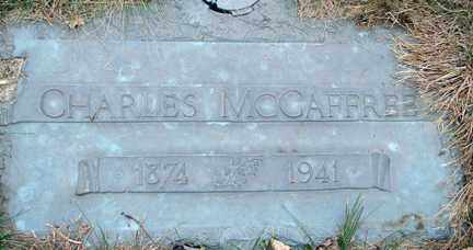 MCCAFFREE, CHARLES - Minnehaha County, South Dakota | CHARLES MCCAFFREE - South Dakota Gravestone Photos