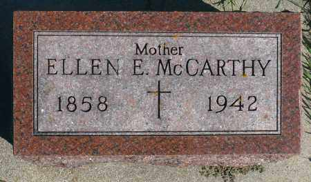 MCCARTHY, ELLEN E. - Minnehaha County, South Dakota | ELLEN E. MCCARTHY - South Dakota Gravestone Photos