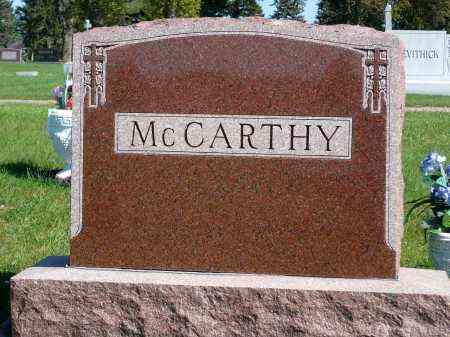 MCCARTHY, FAMILY MARKER - Minnehaha County, South Dakota | FAMILY MARKER MCCARTHY - South Dakota Gravestone Photos