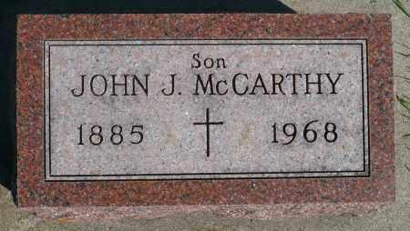 MCCARTHY, JOHN J. - Minnehaha County, South Dakota | JOHN J. MCCARTHY - South Dakota Gravestone Photos
